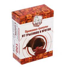 Приманка-гранулы для уничтожения КРОТОВ, коробка 100 г