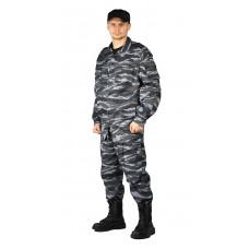 """Костюм мужской """"Спецназ"""" тк.смесовая РИП-СТОП """"Серый вихрь"""""""