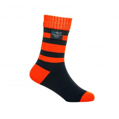 Водонепроницаемые носки детские DexShell Waterproof Children Socks оранжевые