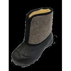 Ботинки LC мужские суконные, на молнии, ТЭП, ассорт. короб- 6 пар (42-1, 43-1, 44-2, 45-1, 46-1)