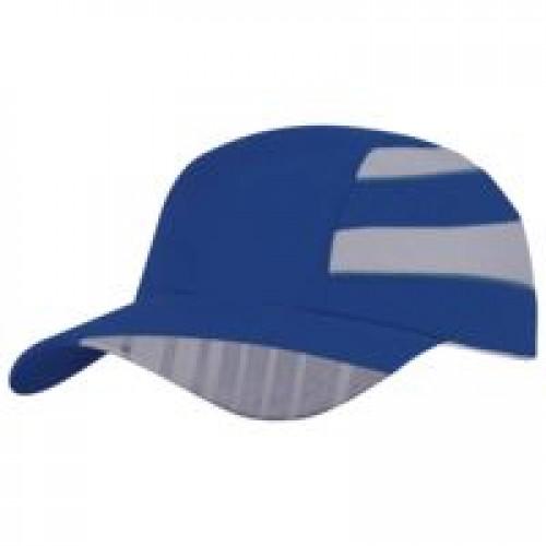 Бейсболка Ben Nevis со светоотражающим элементом, ярко-синяя