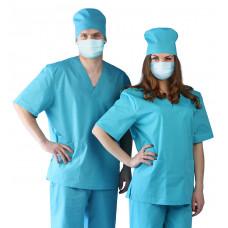 Костюм Хирургический (универсальный) бирюзовый