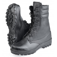 "Ботинки с высоким берцем  ""Ратник-Зима"" на иск. меху, подошва резина (в уп. 8 пар)"
