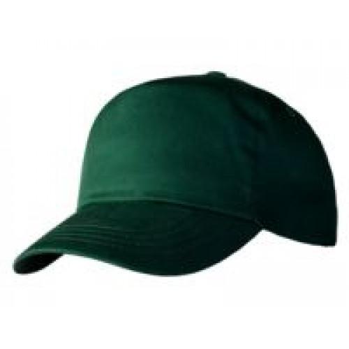 Бейсболка Unit Promo, темно-зеленая