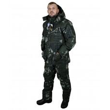 "Костюм мужской ""Tauren"" зимний, куртка/полукомб.,тк./подкл.: Alova Premium/PolyBrushed,кмф""Лабиринт"""