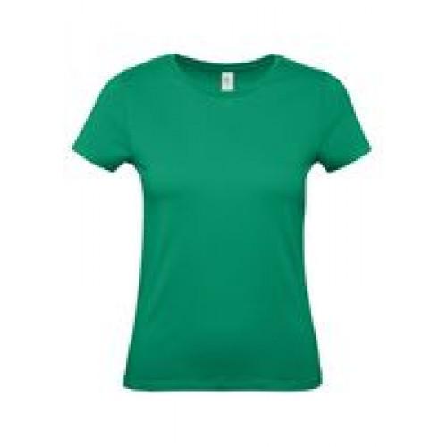 Футболка женская E150 зеленая