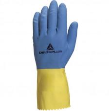 Перчатки латексные DUOCOLOR VE330 DeltaPlus
