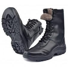 """Ботинки с высоким берцем """"EXTRIME-ZIMA"""" на молнии, натуральная шерсть"""