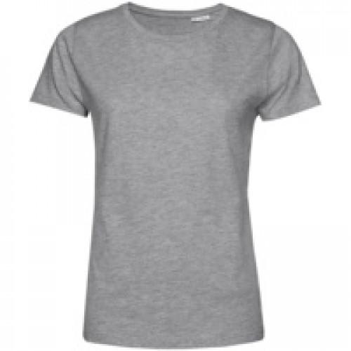 Футболка женская E150 Organic, серый меланж