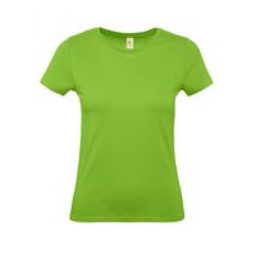 Футболка женская E150 зеленое яблоко