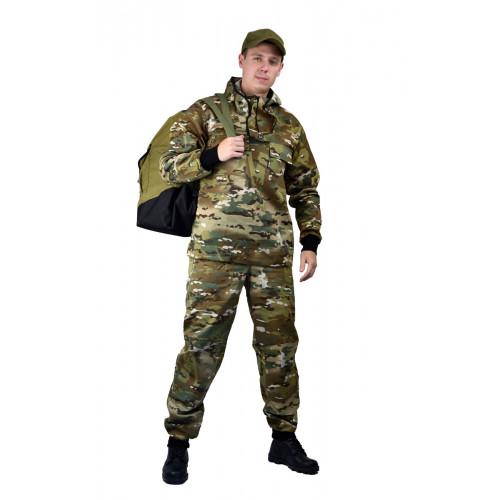 """Костюм туристический ПРТНЦФ с сеткой,  цвет: кмф """"Мультикам"""", ткань: Грета"""