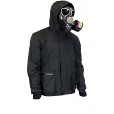 Куртка демисезонная DemiLich (Finlandia/PolyBrushed), чёрный. К-421К