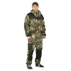 """Костюм """"ГОРКА-ГОРЕЦ"""" куртка/брюки, цвет: кмф """"Туман""""/т.хаки, ткань: Грета"""