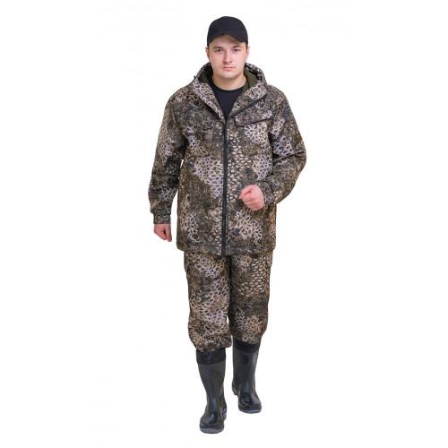 """Костюм """"РОВЕР"""" куртка/брюки, цвет: кмф """"Трофи"""", ткань: Полофлис"""