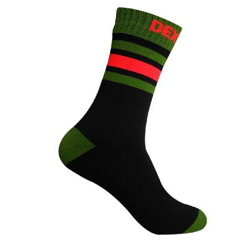 Водонепроницаемые носки DexShell Ultra Dri Sports Socks с оранжевой полосой