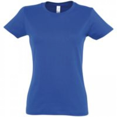Футболка женская Imperial Women 190, ярко-синяя (royal)