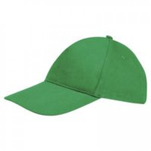 Бейсболка Sunny, ярко-зеленая