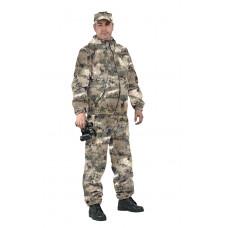 "Костюм ""ТУРИСТ 3"" куртка/брюки, цвет: кмф ""Мох бежевый"", ткань: Грета"