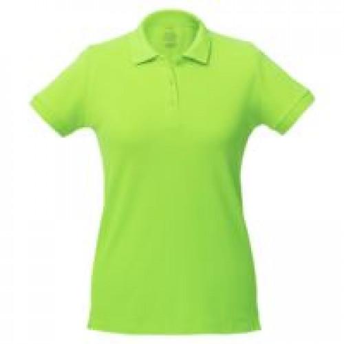 Рубашка поло женская Virma Lady, зеленое яблоко