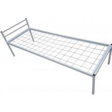 Кровать одноярусная металлическая, порошковое покрытие, инд.заказ