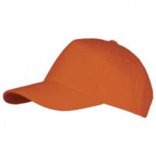 Бейсболка LONG BEACH, оранжевая