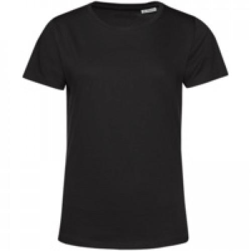 Футболка женская E150 Organic, черная