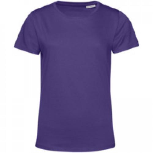 Футболка женская E150 Organic, фиолетовая