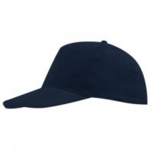 Бейсболка SUNNY, темно-синяя