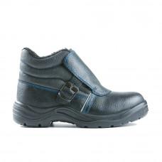 Ботинки ЭСО для сварщика с МП на искусственном меху мод.24М (ПУ/нитрил)
