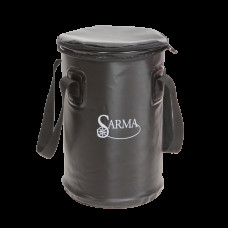 Складное ведро Sarma с крышкой С005-2(10л) (инд.заказ)