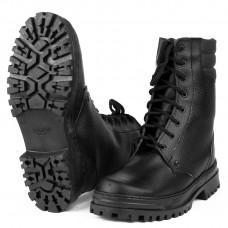 Ботинки с высоким берцем Армия хром на натуральном меху (в уп.6 пар)