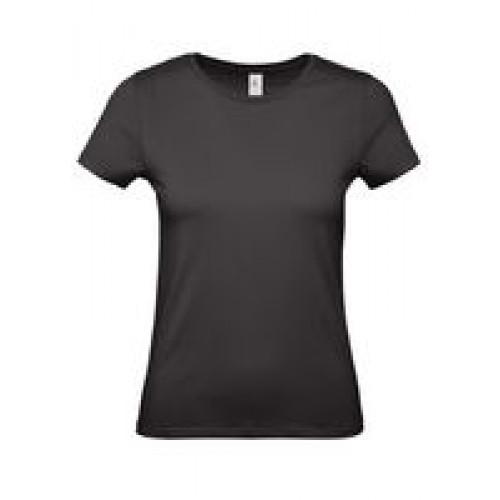 Футболка женская E150 черная