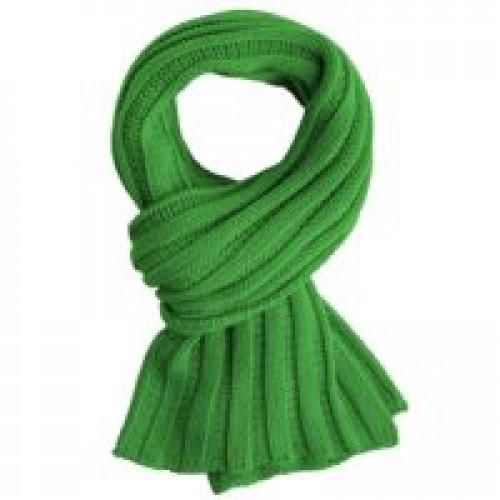 Шарф Chain, зеленый (оливковый)