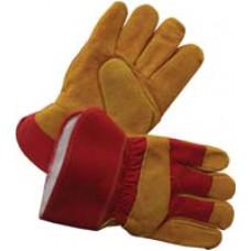 """Перчатки комбинированные ткань - спилок утепленные """"STRONG"""""""