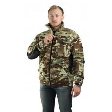 Куртка флисовая МИЛИТАРИ (расцветки КМФ в ассортименте)