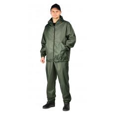 "Костюм ""МАСКХАЛАТ-ЛИВЕНЬ"" куртка/брюки, цвет: Хаки, ткань: Таффета рип-стоп"
