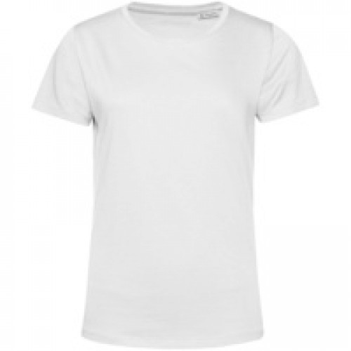 Футболка женская E150 Organic, белая