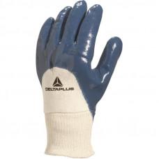 Перчатки нитриловые NI150 частичное покрытие, манжет DeltaPlus