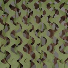 """Сеть маскировочная """"Экон"""" ЭС-1 2,4х1,5м. (зелёный.коричневый) инд.заказ"""