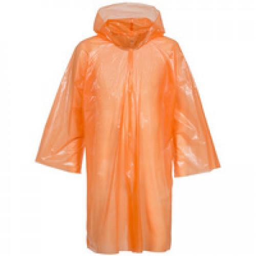Дождевик-плащ BrightWay, оранжевый