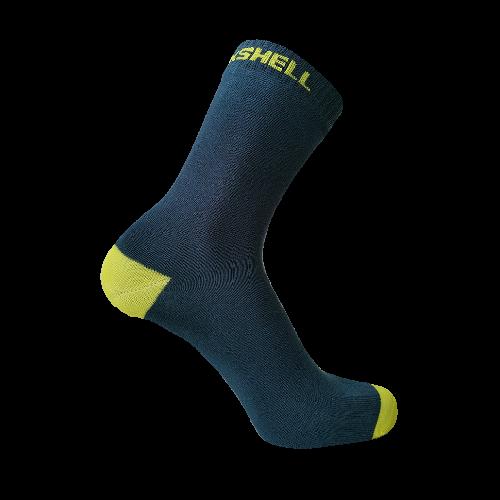 Водонепроницаемые носки DexShell Ultra Thin Crew, синий/желтый