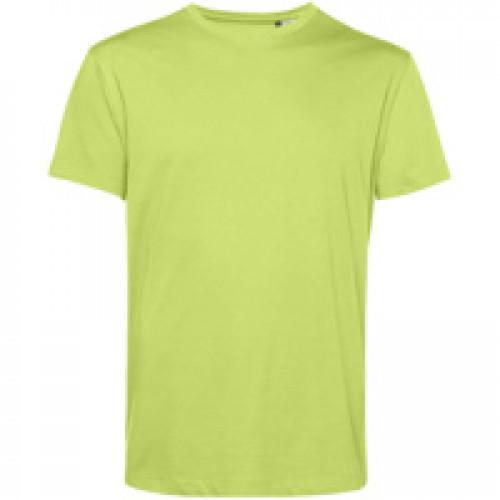 Футболка унисекс E150 Organic, зеленое яблоко