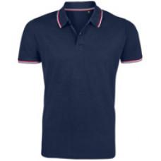Рубашка поло мужская Prestige Men, темно-синяя