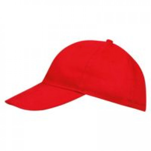 Бейсболка BUFFALO, красная