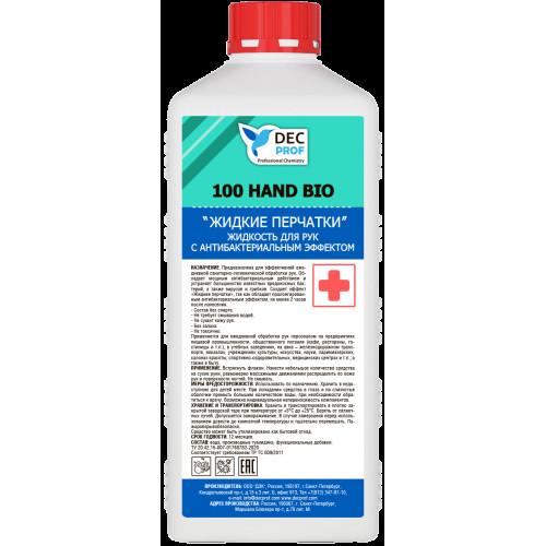 Жидкость для рук с антибактериальным эффектом 1л DEC PROF 100 HAND BIO