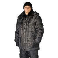 """Куртка мужская """"Охрана """" зимняя черная"""