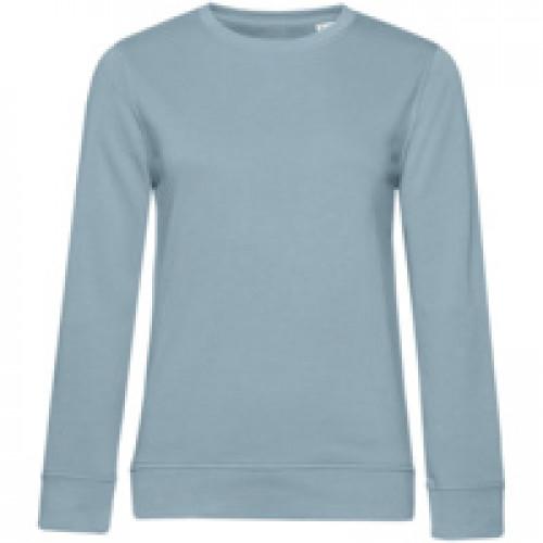 Свитшот женский BNC Organic, серо-голубой