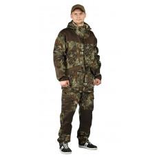 """Костюм """"ГОРКА-ГОРЕЦ"""" куртка/брюки, цвет: кмф """"Питон зеленый""""/т.хаки, ткань: Грета"""