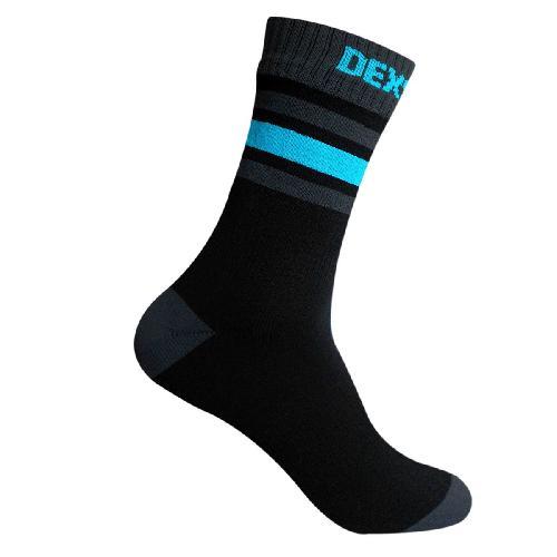 Водонепроницаемые носки DexShell Ultra Dri Sports Socks с голубой полоской