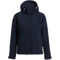 Куртка женская Hooded Softshell темно-синяя